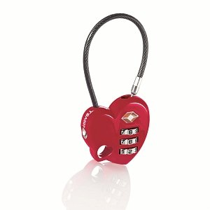 Travel Heart Lock