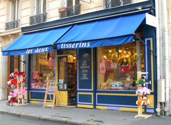 awning toy shop